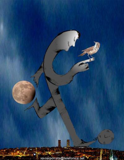 Ilustración Digital por Xavier Porrata