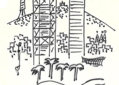 Torres Puerto Olímpico